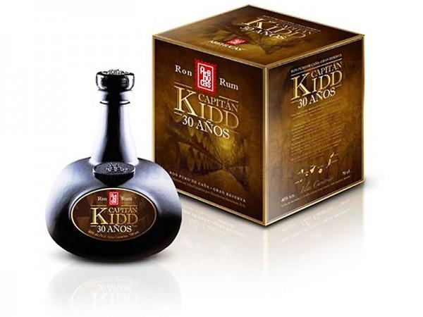 Ron Capitan Kidd Arehucas - 0,7 Liter 40% Vol.