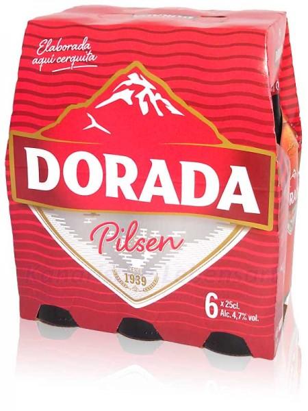 Dorada Pilsen - 250ml Flasche im 6er-Pack