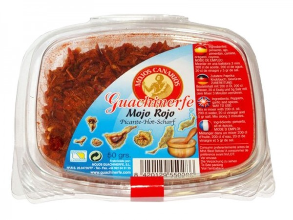 Mojo Rojo milde Gewürzmischung - 50g - Guachinerfe