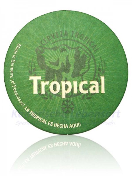 Bierdeckel Tropical