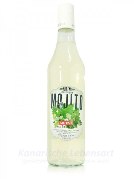 Licor Mojito Artemi - 0,7 Liter 14,9% Vol.